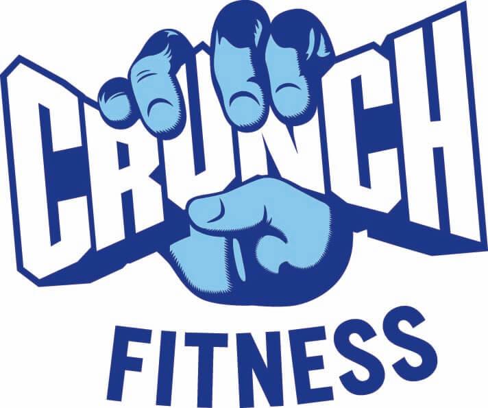 Crunch fitness Logos.