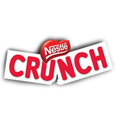Nestlé Crunch Logo transparent PNG.