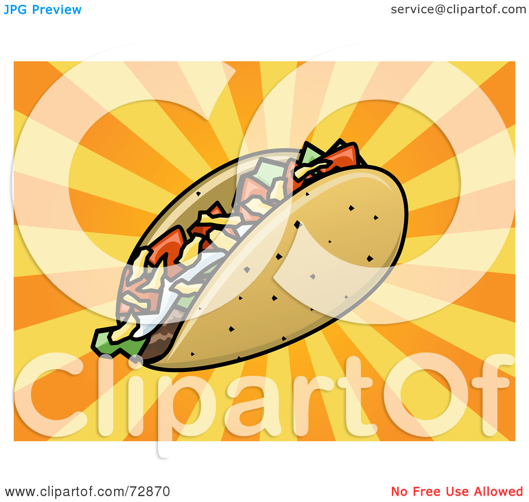 Downloadable Taco Clipart.