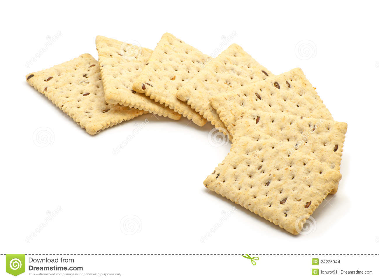 Crunchy Biscuits Stock Images.