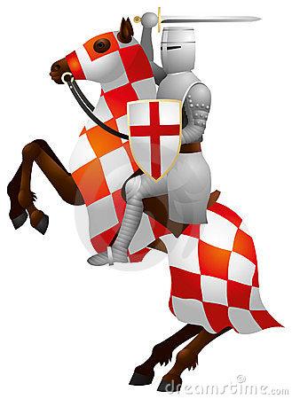 Crusader Stock Illustrations.
