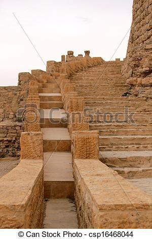 Stock Photo of Crusader castle Al.