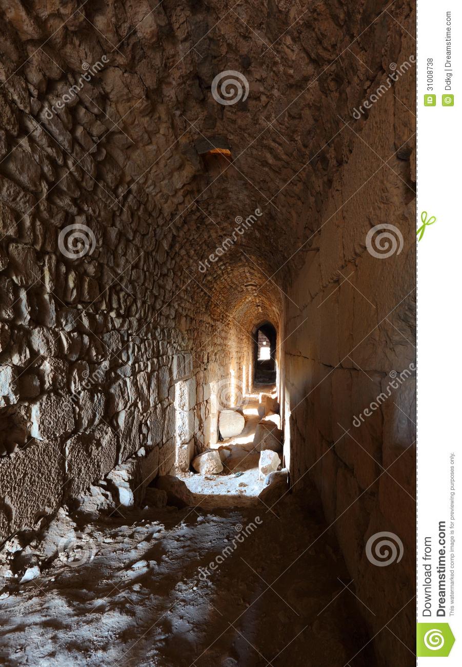 Inside Medieval Castles Clipart.