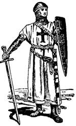 Crusader Clipart.