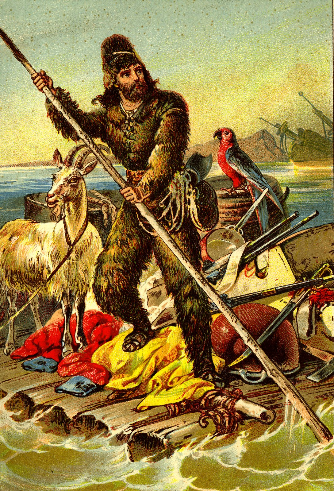 Images: Robinson Crusoe.