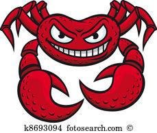 Crustacea Clipart Vector Graphics. 86 crustacea EPS clip art.