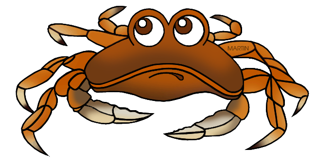 Free United States Clip Art by Phillip Martin, State Crustacean of.