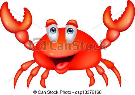 Cute crustaceans Clipart Vector Graphics. 565 Cute crustaceans EPS.