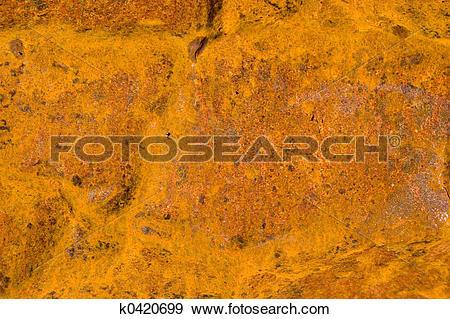 Stock Photograph of Crusty rust k0420699.