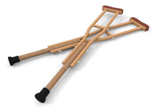 Pictures Of Crutches.