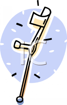 Forearm Crutch.
