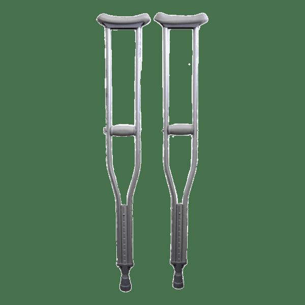 Underarm Crutches transparent PNG.
