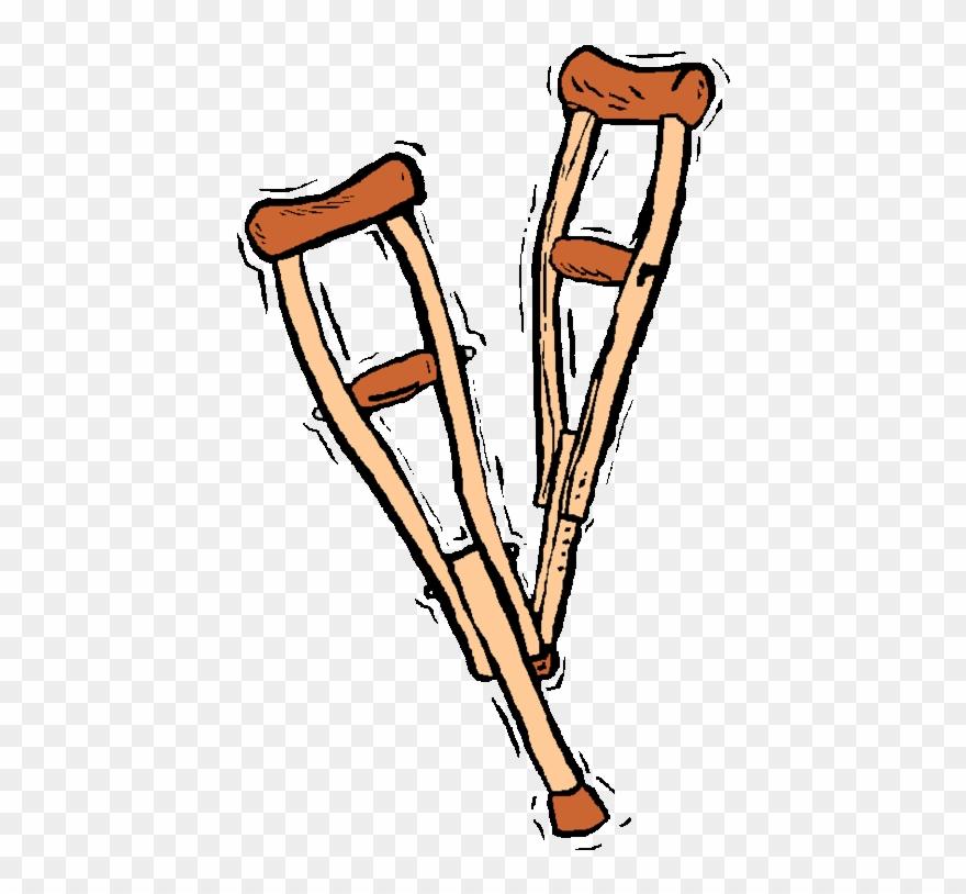 Crutches Medium.