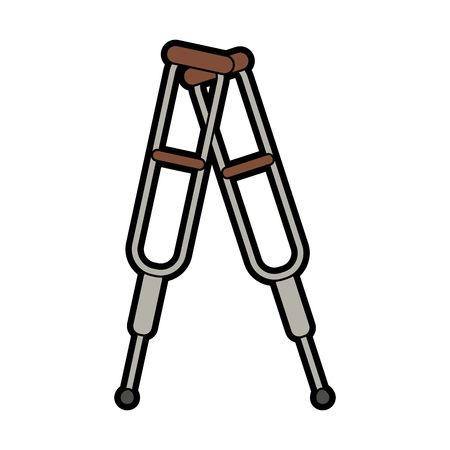 3,798 On Crutches Stock Vector Illustration And Royalty Free On.