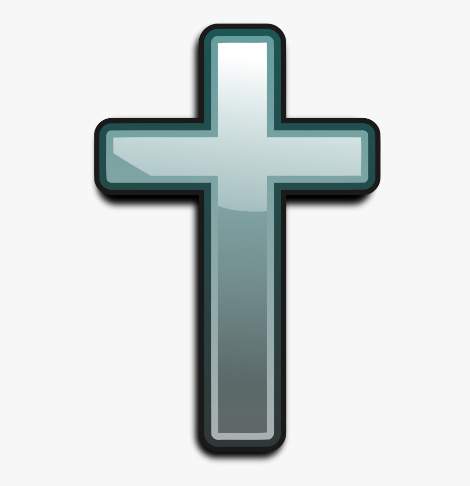 Cross Christian 001 Small Clipart 300pixel Size, Free.
