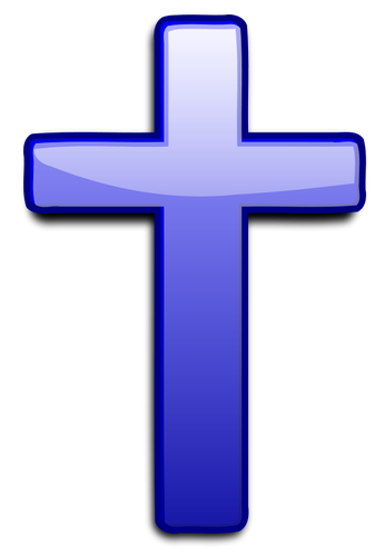 11317 christian clipart cross with bible.