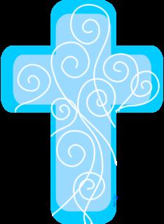 ☆·.·´¯`·.·☆La Casita de Vero☆·.·´¯`·.·☆: Cruz para bautizo.