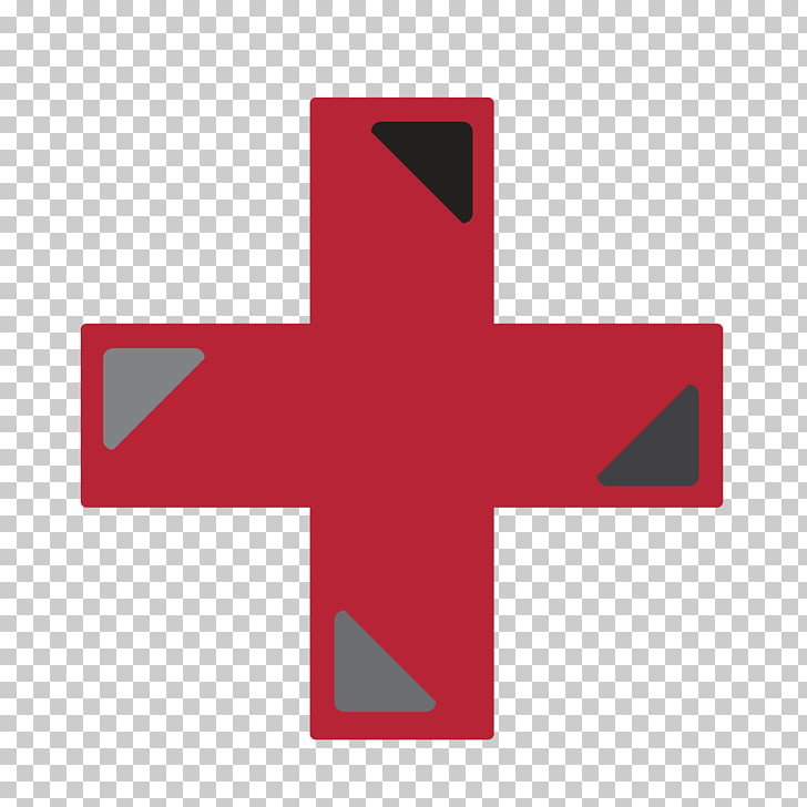 Artes visuales de la cruz roja americana de los pueblos.