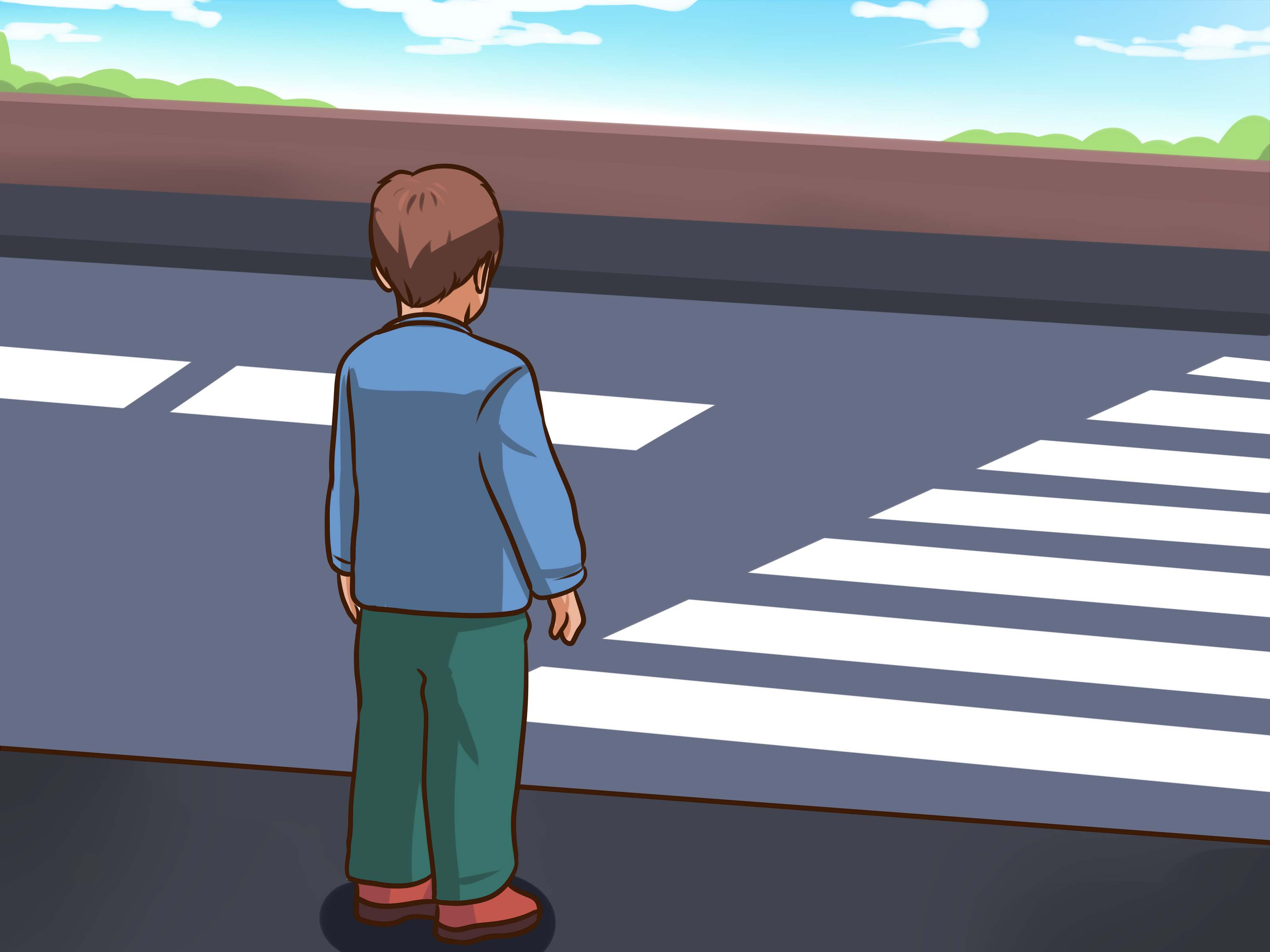 How to Teach Children Basic Street Safety when Walking.