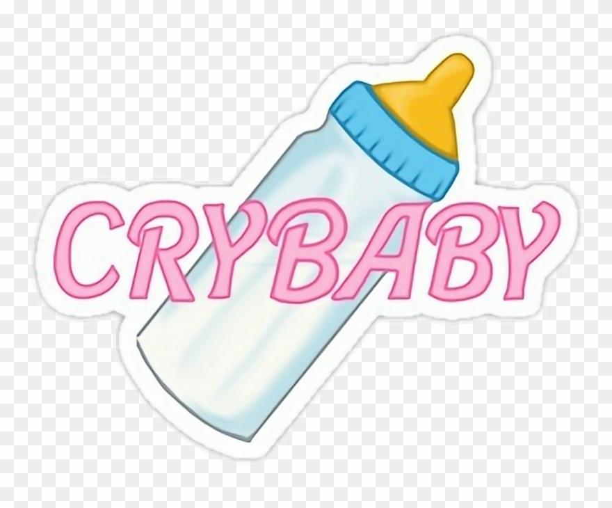 Crybaby Sticker.