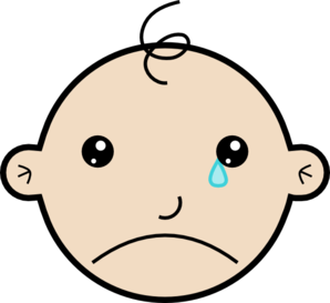 Cry Clipart.