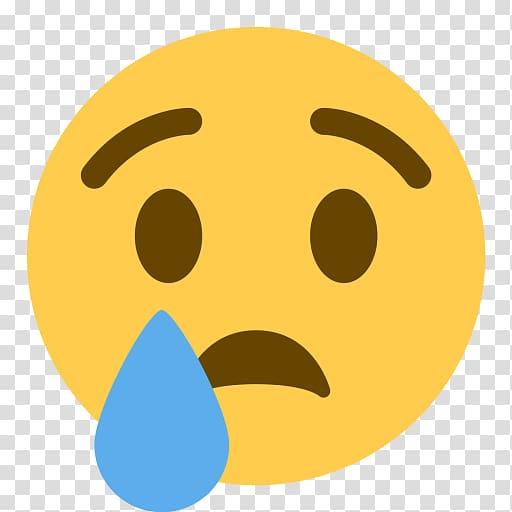 Emoticon Computer Icons Crying Emoji Sadness, tear material.