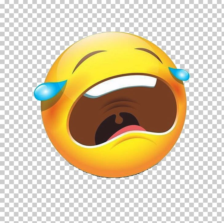 Smiley Emoticon Face With Tears Of Joy Emoji Crying PNG, Clipart.