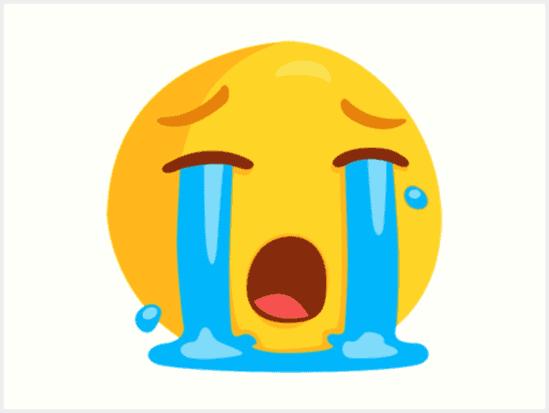 crying emoji images free download.