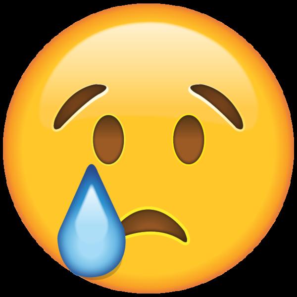 Crying Face Emoji.
