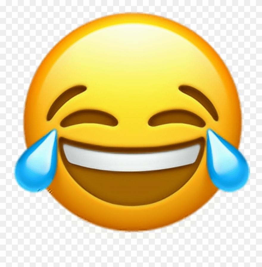 Free Png Download Ios 10 Crying Laughing Emoji Png.