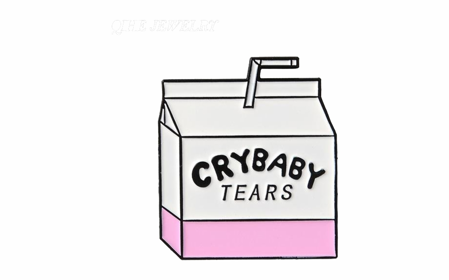 Crybaby Tears Pin.