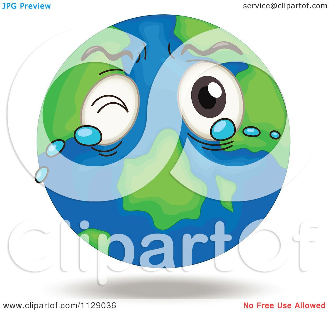 Crying earth clipart 8 » Clipart Portal.