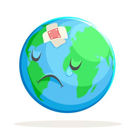 176 Earth Crying Stock Vector Illustration And Royalty Free Earth.