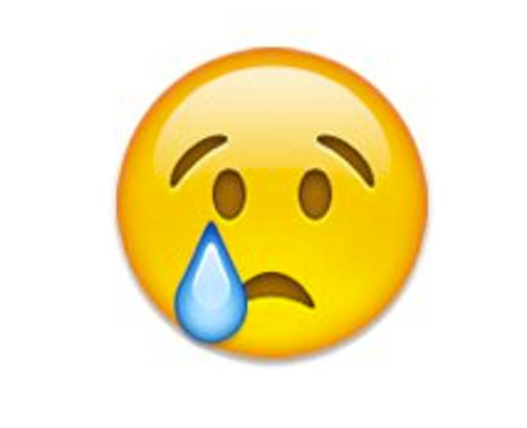 Crying Emoji clipart.