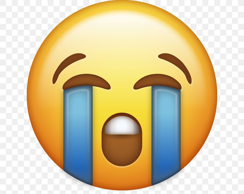 Face With Tears Of Joy Emoji Crying Clip Art, PNG, 640x652px.