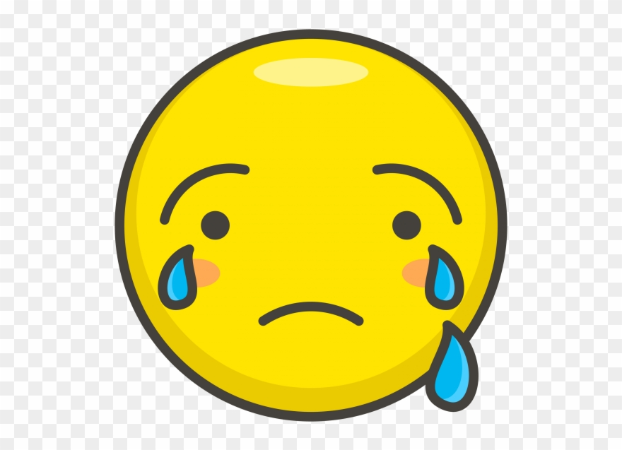 Crying Face Emoji Clipart (#2416800).