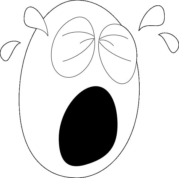 Big Crying Clip Art at Clker.com.