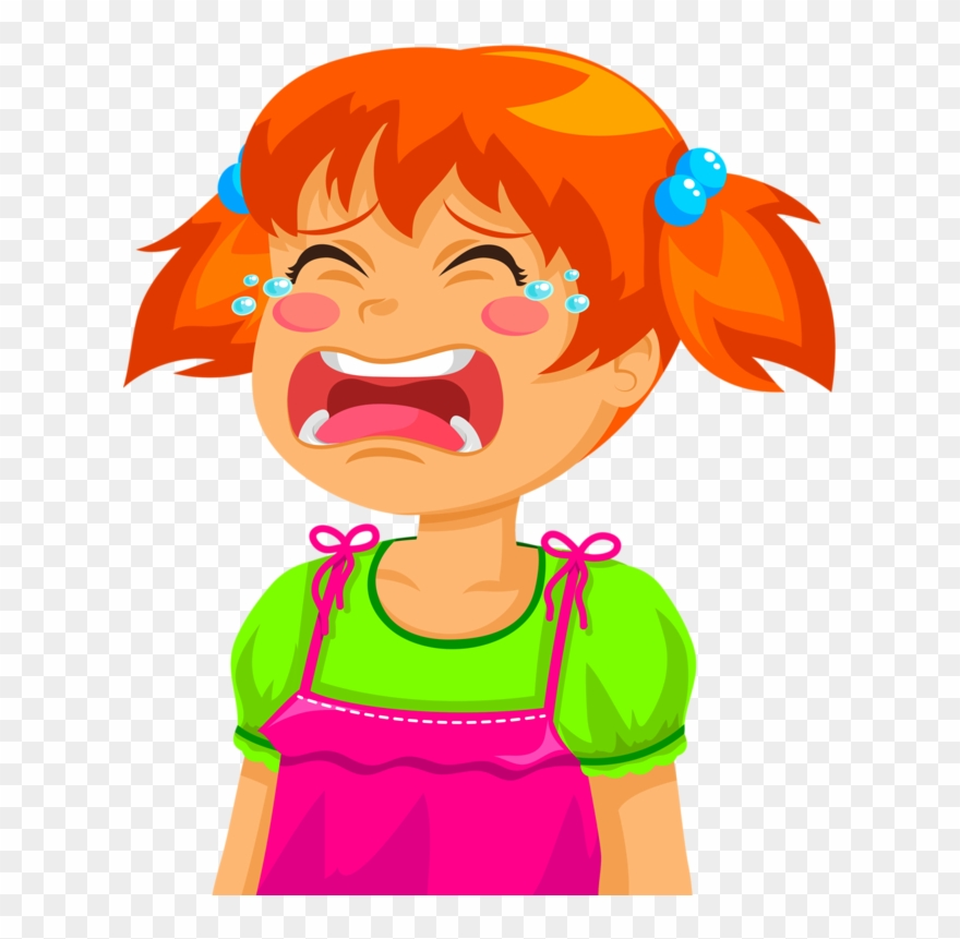 Crying Clipart Toddler.