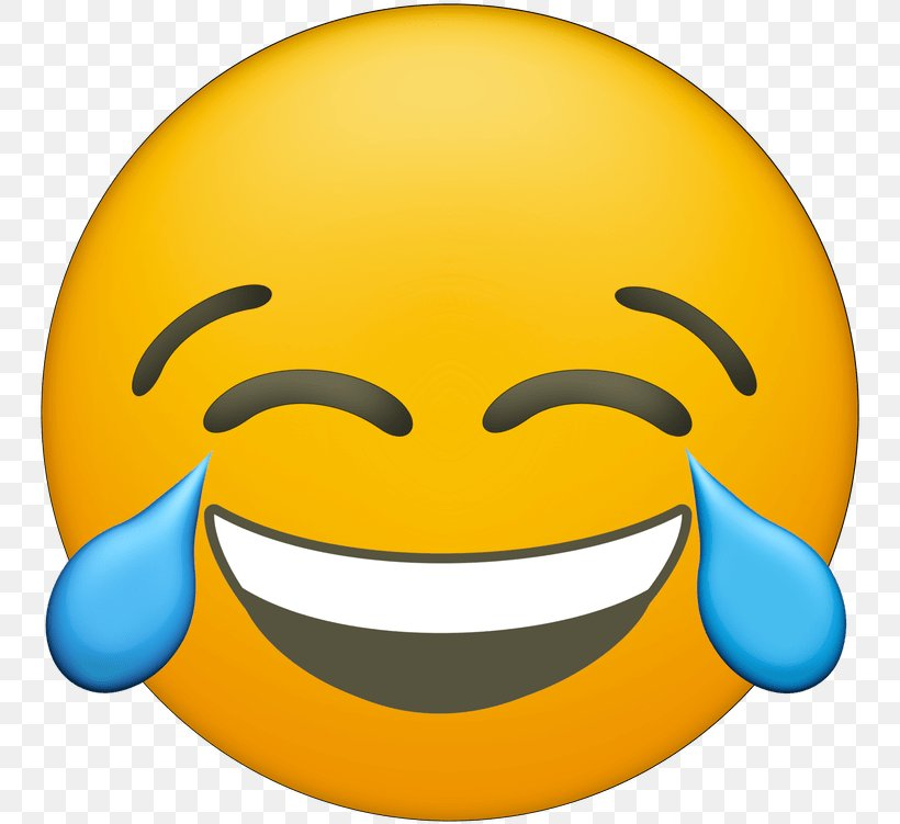 Face With Tears Of Joy Emoji Clip Art Laughter, PNG.