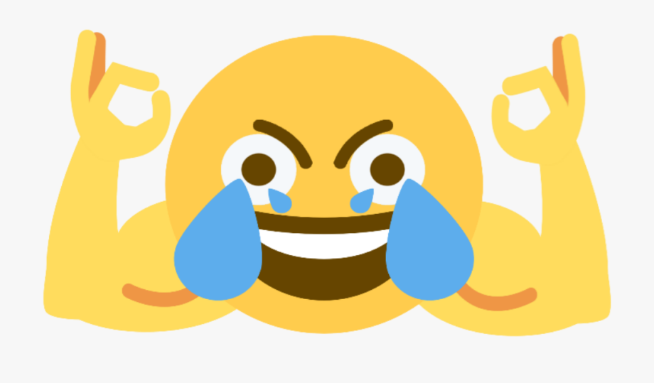 Open Eye Crying Laughing Emoji , Transparent Cartoon, Free Cliparts.