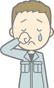 82 crying free clipart.