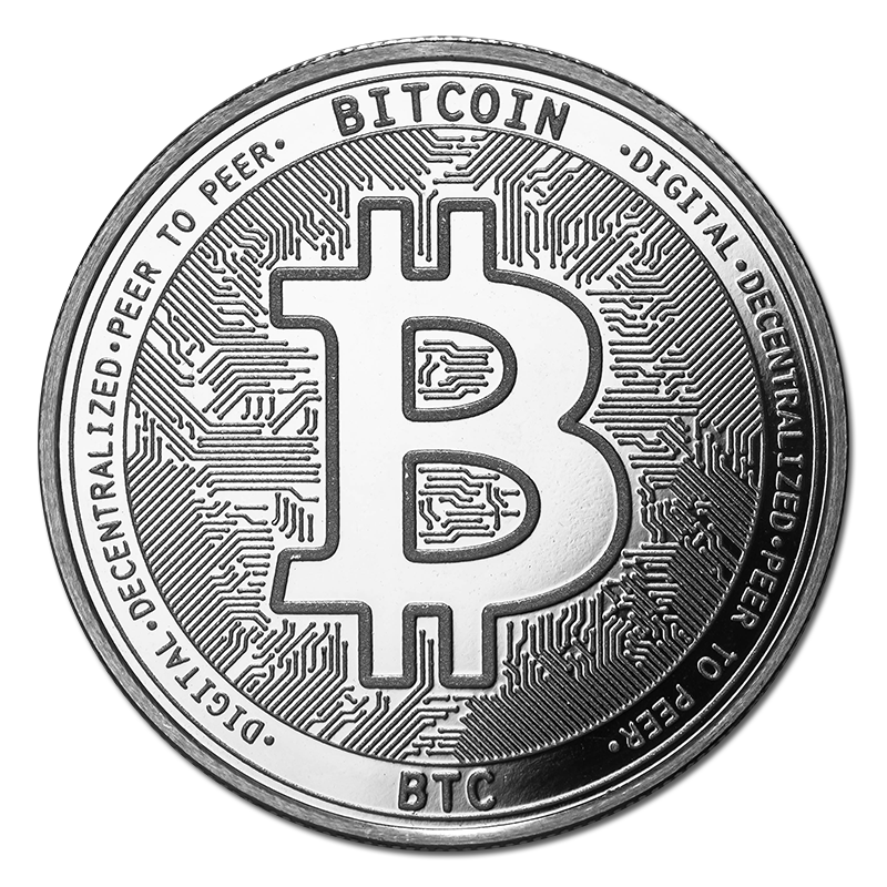 Details about Bitcoin Silver Bullion Round.