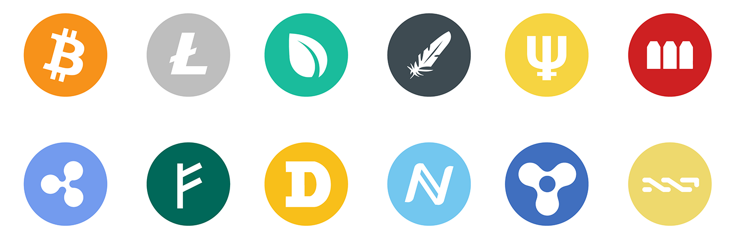 Crypto Icons: An open source icon pack for the most popular crypto.