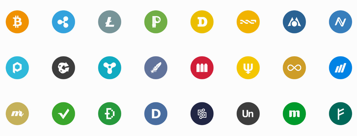 30+ Most Impressive Cryptocurrency Icon Packs.