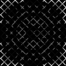 0x Crypto Icon.