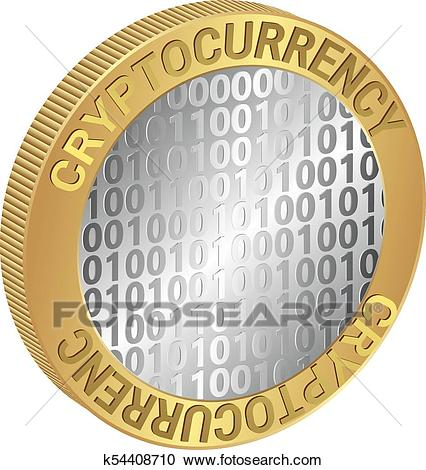 Cryptocurrency Clipart.