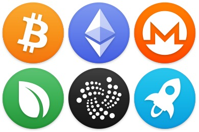Cryptocurrency Iconset (259 icons).