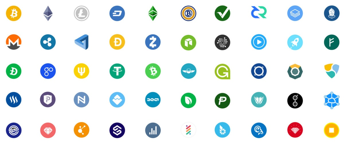 Free Cryptocurrency Icon Packs.