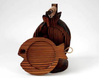 Cryptomeria wood.