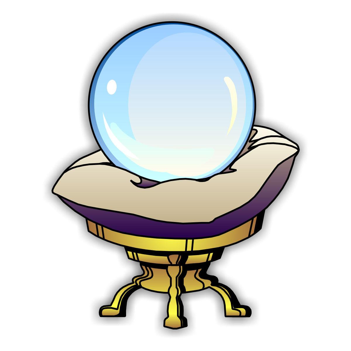 Crystal Ball Clipart.